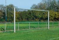 Fotbalová branka FIFA bílá+ síťové oblouky 30 mm