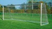 Fotbalová bezuzlová síť Nylon 3mm7,5x2,5 hloubka nahoře/dole 80 X150