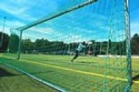 Fotbalová síť bezuzlová, 5mm, PP, hloubka nahoře/dole 0,8/2m