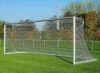 Branka na fotbal mobilní+ síťové oblouky 40mm, profil 120/100