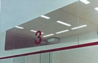 Ochranná síť pro squash, oko 2cm, PP, 1mm
