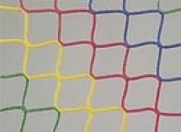 Ochranná síť,PP, 3mm, tuhá, oko 45 mm, 4-barevná