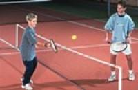 Dětská tenisová síť 0,7 x 3m