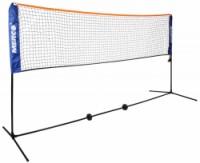 badminton/tenis set 3m stojany na kurt vč. sítě