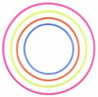 Merco obruč hula hoop Heavy kruhy 50cm 65cm 75cm 85cm