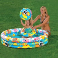 Intex bazén Fish set 59469 nafukovací 132x28cm