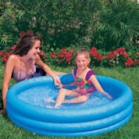 Intex bazén 3K Crystal 59416 nafukovací 114x25cm