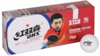 DHS míčky na stolní tenis 40 1 hvězda sada 10ks plastové